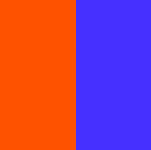 Naranja - Violeta