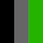 Negro - Gris - Verde