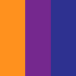 Naranja - Púrpura - Azul